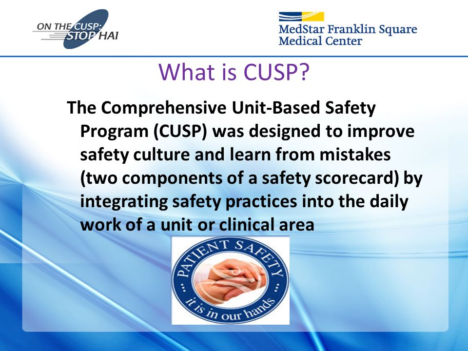 Comprehensive Unit Based Patient Safety Program Deepa Jose,Rn,Ccrn