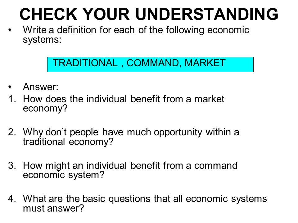 choosing unhampered market process