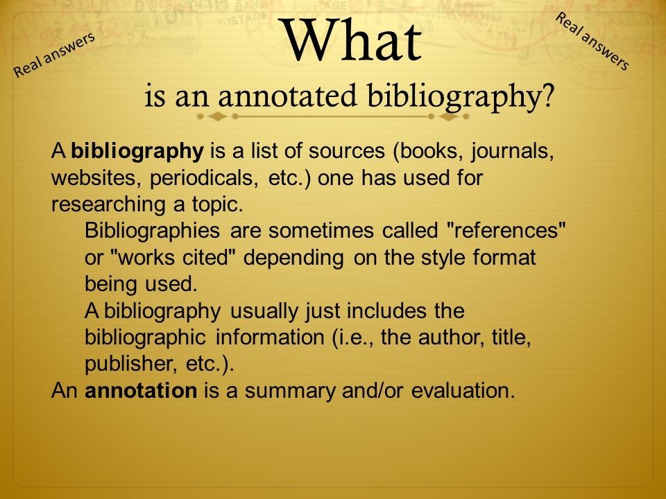 case study annotated bibliography