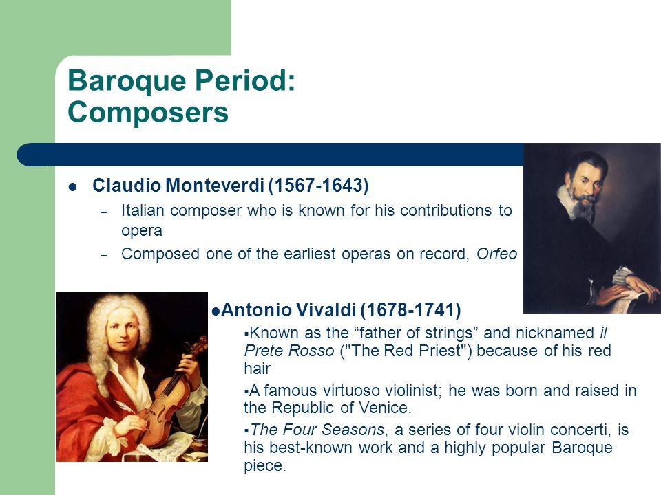 composer antonio vivaldi