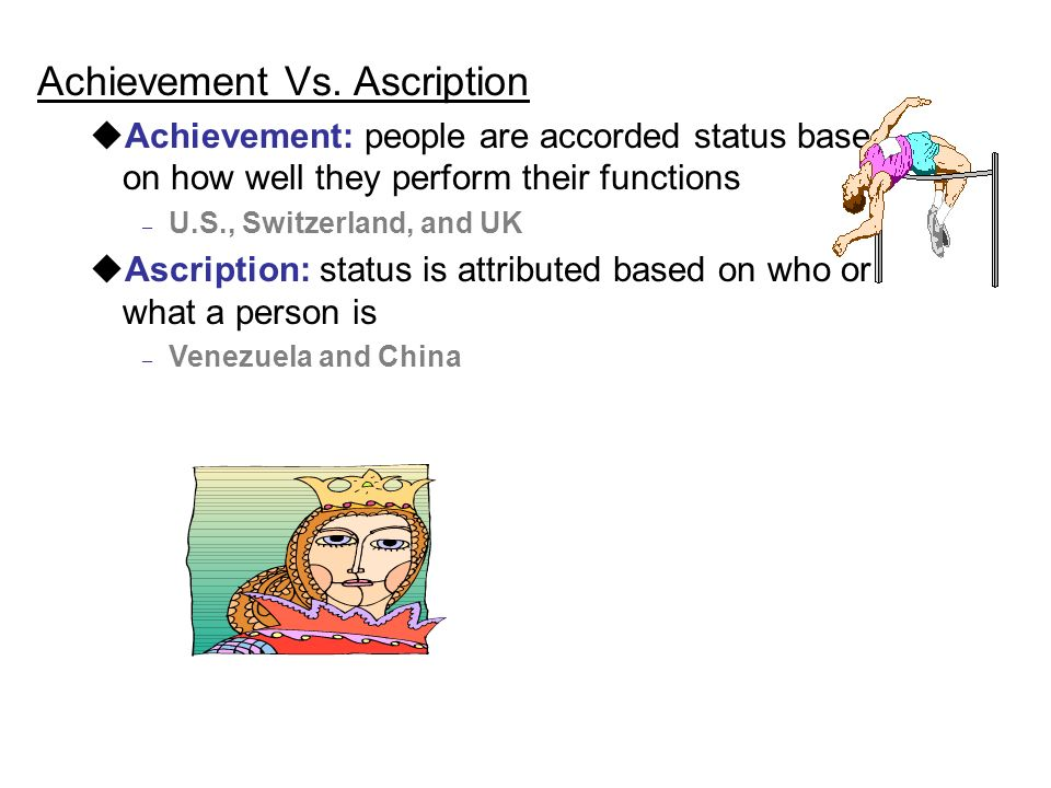 Achievement Vs.