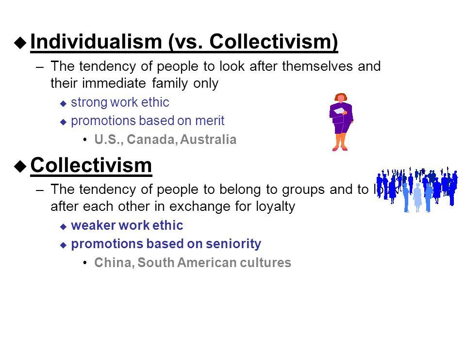  Individualism (vs.