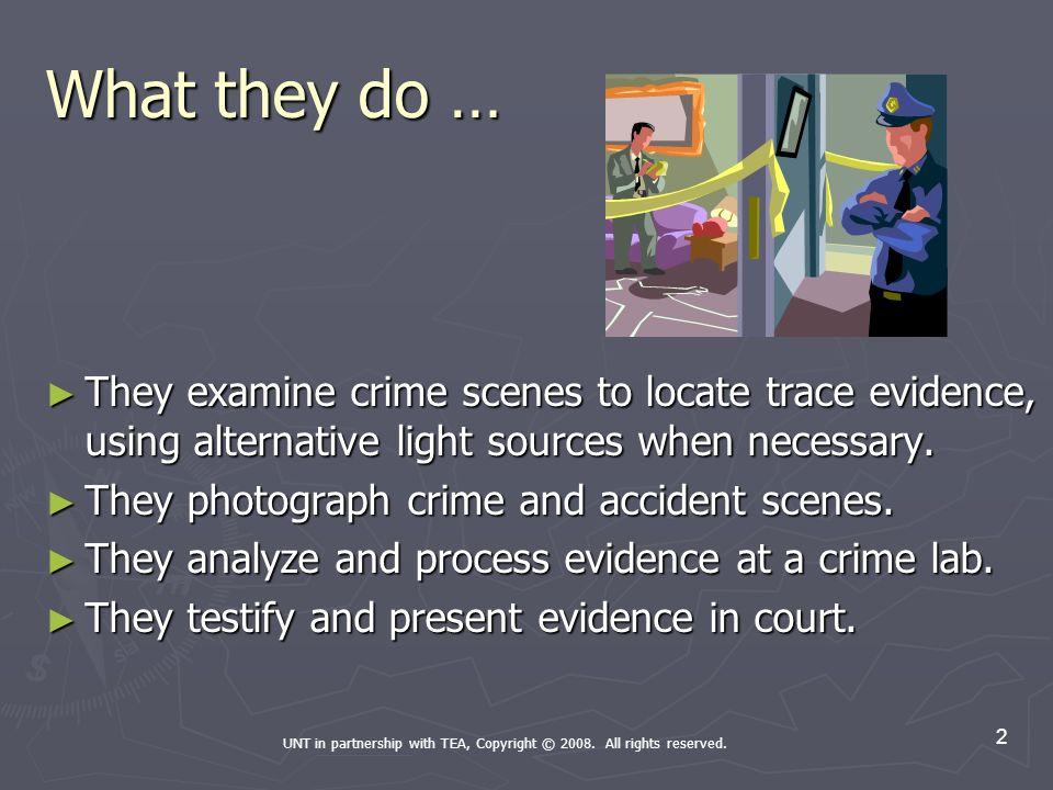 crime scene investigator occupation powerpoint createdthe, Powerpoint templates