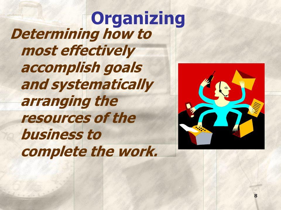19 David McClelland's achievement motivation theory Three major needs govern individual motivation.