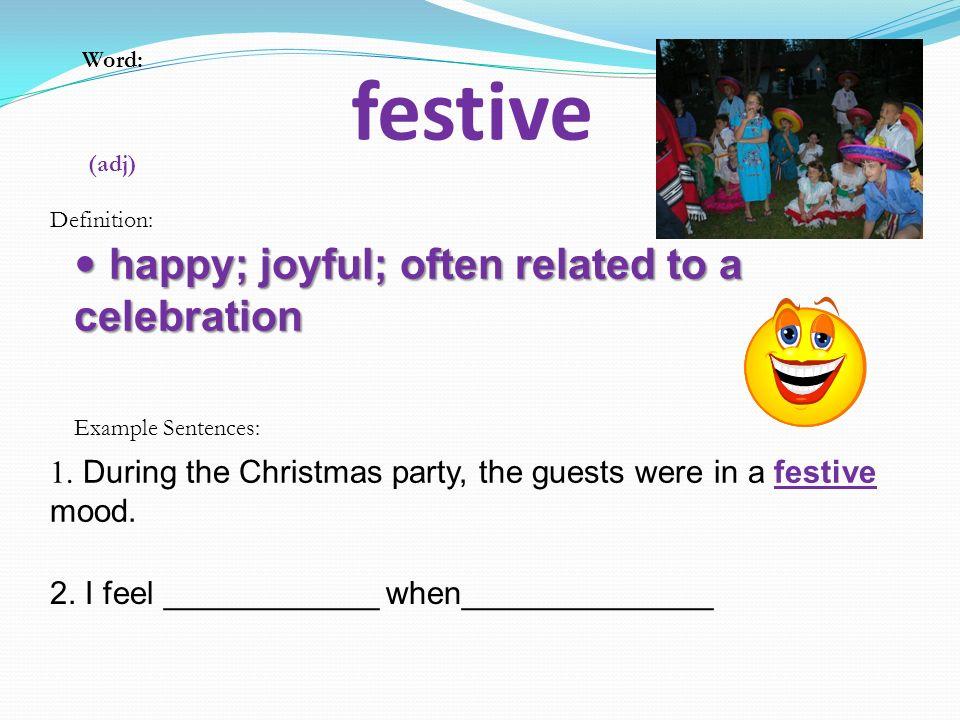3 Festive Happy ...