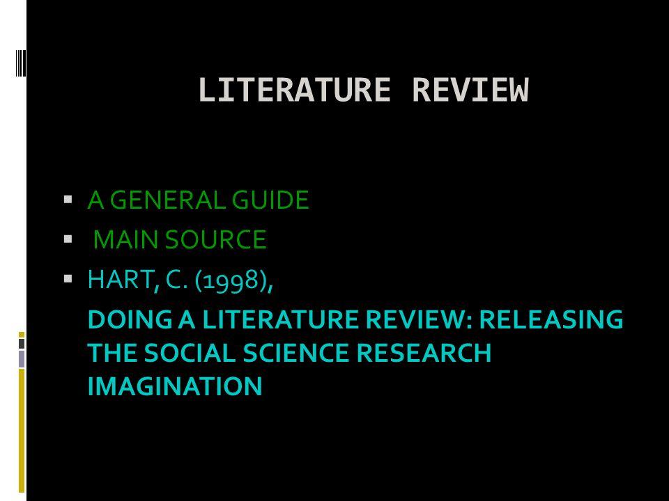 Hart literature review