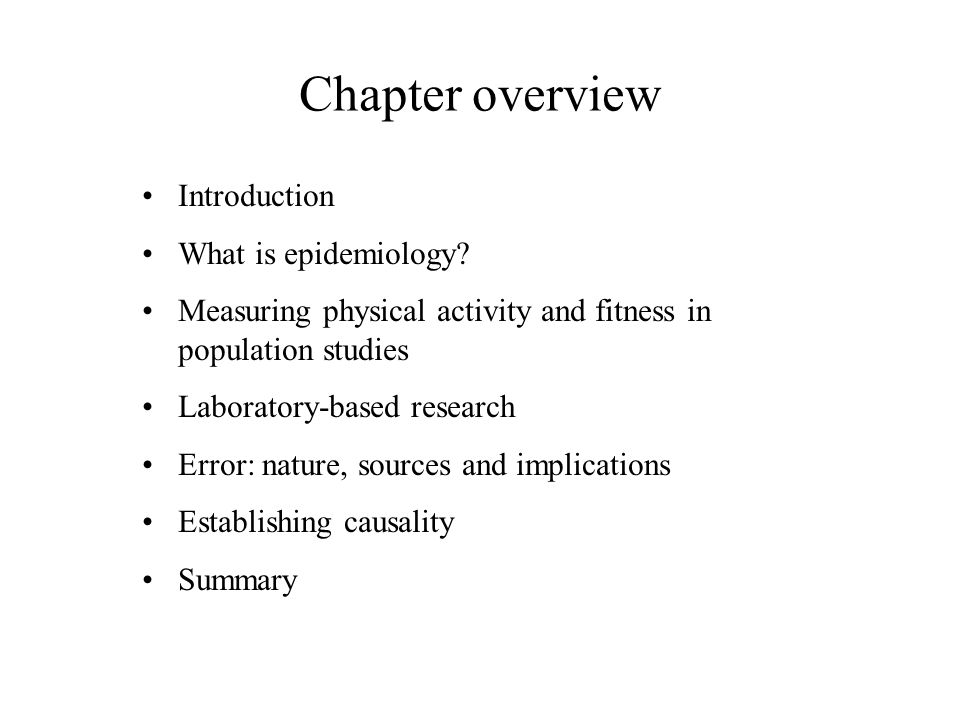 chapter 2 nature of the evidence. chapter overview introduction, Human Body
