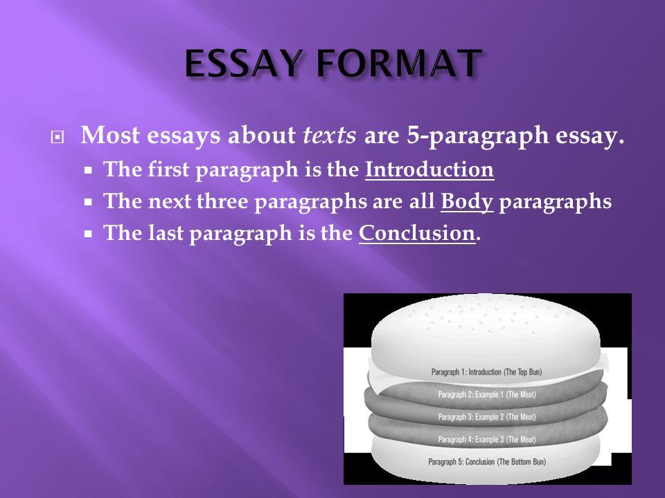 write 5 paragraph essay intro