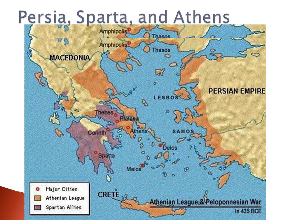 Understanding The Physical World About Years Ago The - Map of the distance between athens sparta and the us