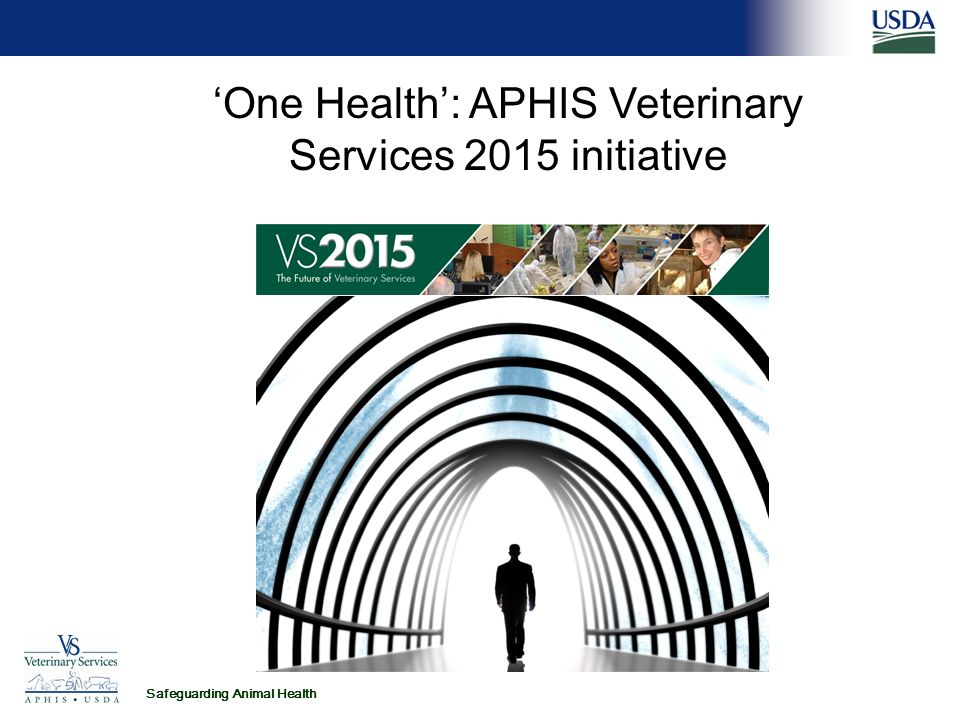 Safeguarding Animal Health 'One Health': APHIS Veterinary Services 2015 initiative