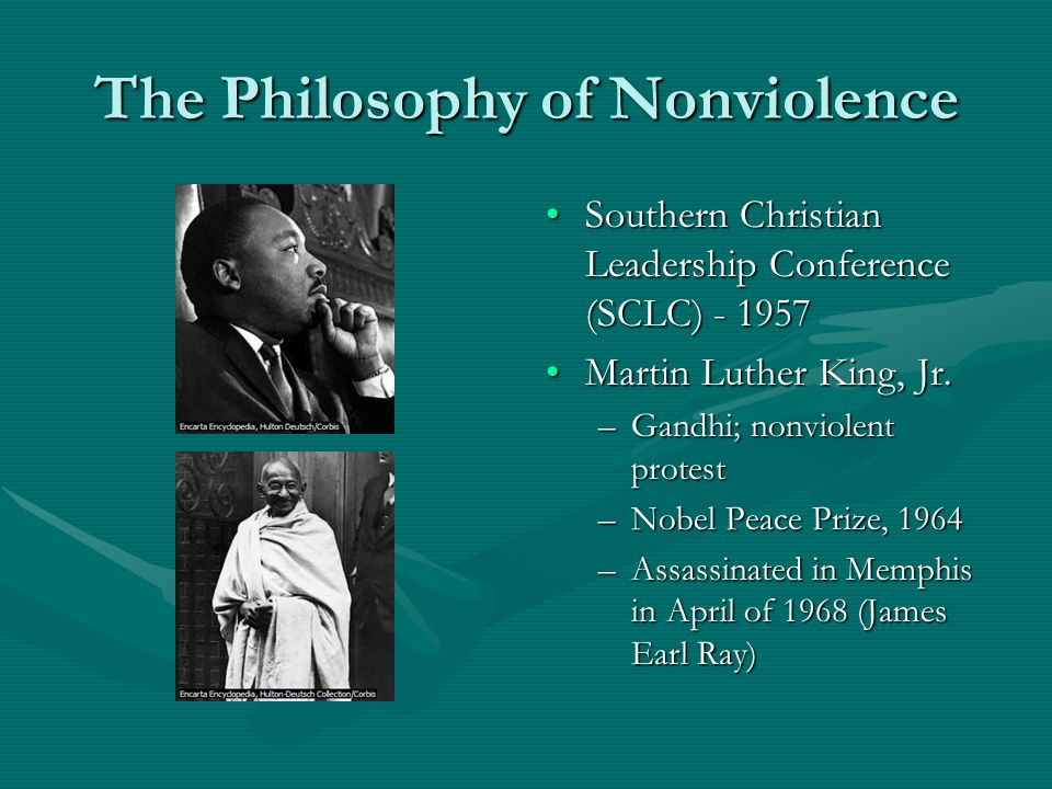 a discussion on martin luther kings philosophy of nonviolence As we remember martin luther king jr, this lesson integrates the skills of mindfulness, body awareness and nonviolence into classroom discussion.
