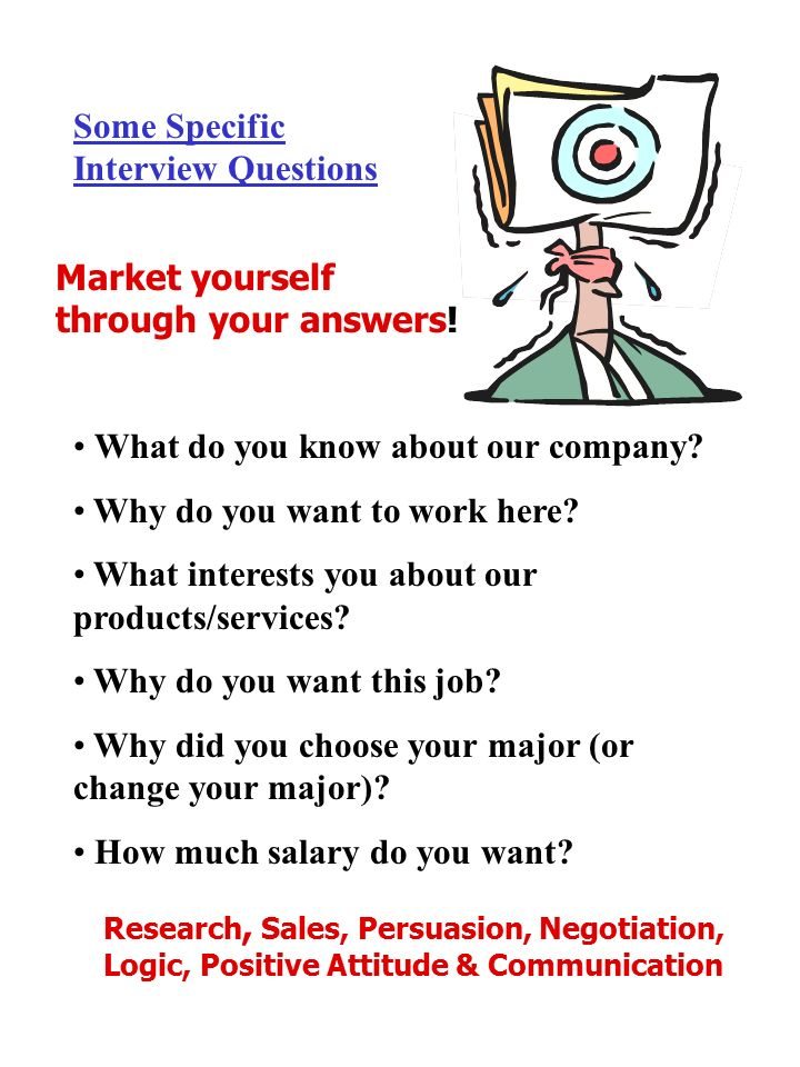 Some Specific Interview Questions What Do You Know About Our Company.