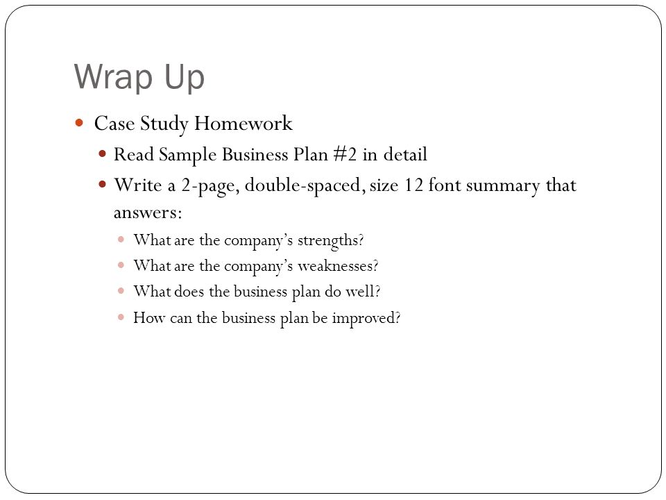 sample business case study Sample case studies for business analysis