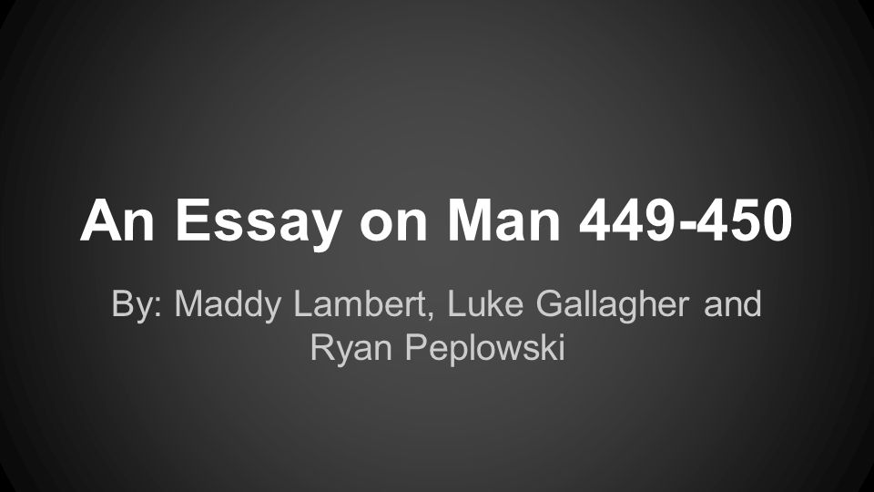 essay on man online text Librivox recording of an essay on man, by alexander pope for further information, including links to online text, reader information, rss feeds.