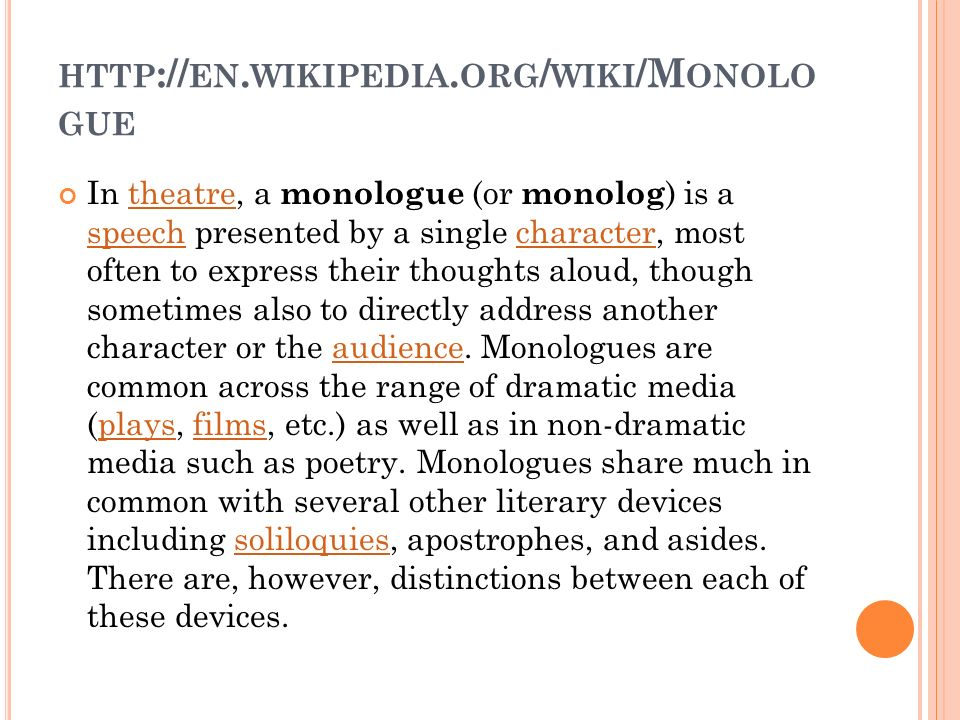 Monolog http en wikipedia org wiki m onolo gue in 2 http en ccuart Image collections