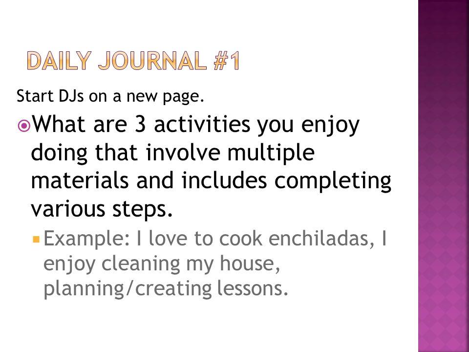 short essay journals