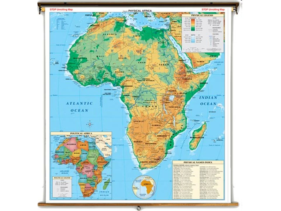 Natural and Physical Features of Africa Mr Broughman Wednesday