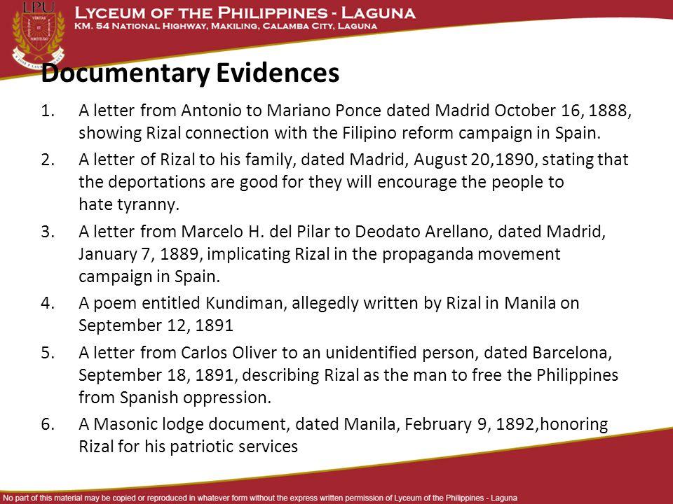 Rizal in Dapitan  Reflection Paper