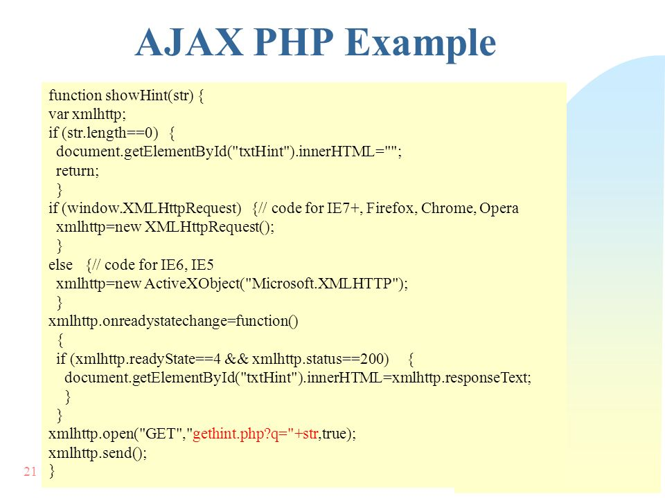 AJAX محمد احمدی نیا 2 Of 27 What is AJAX?  AJAX = Asynchronous ...