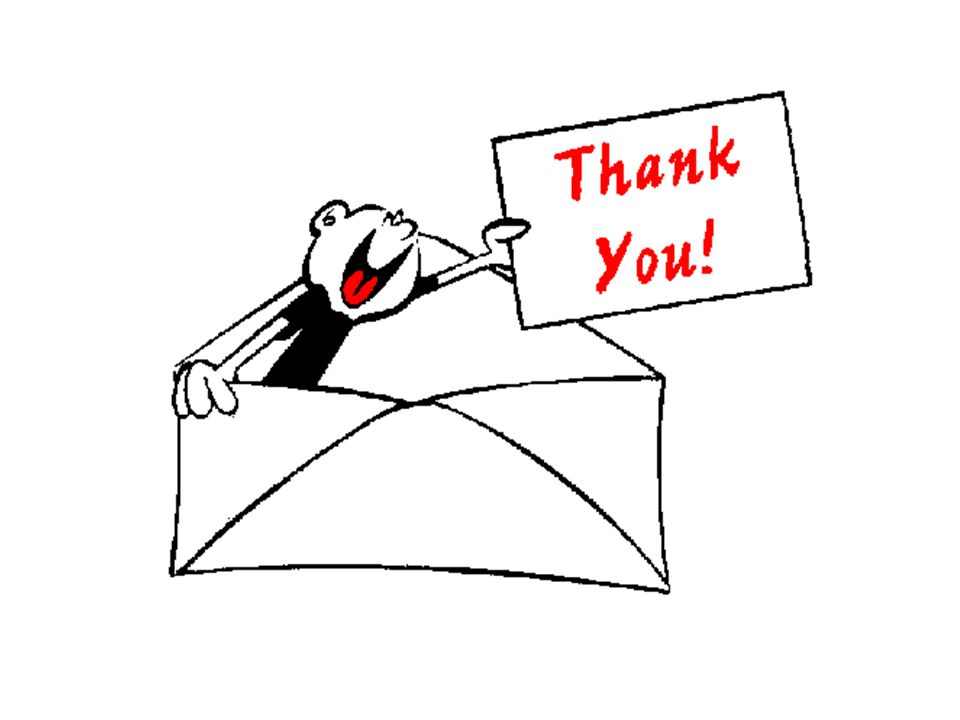 Image result for thank you letter cartoon