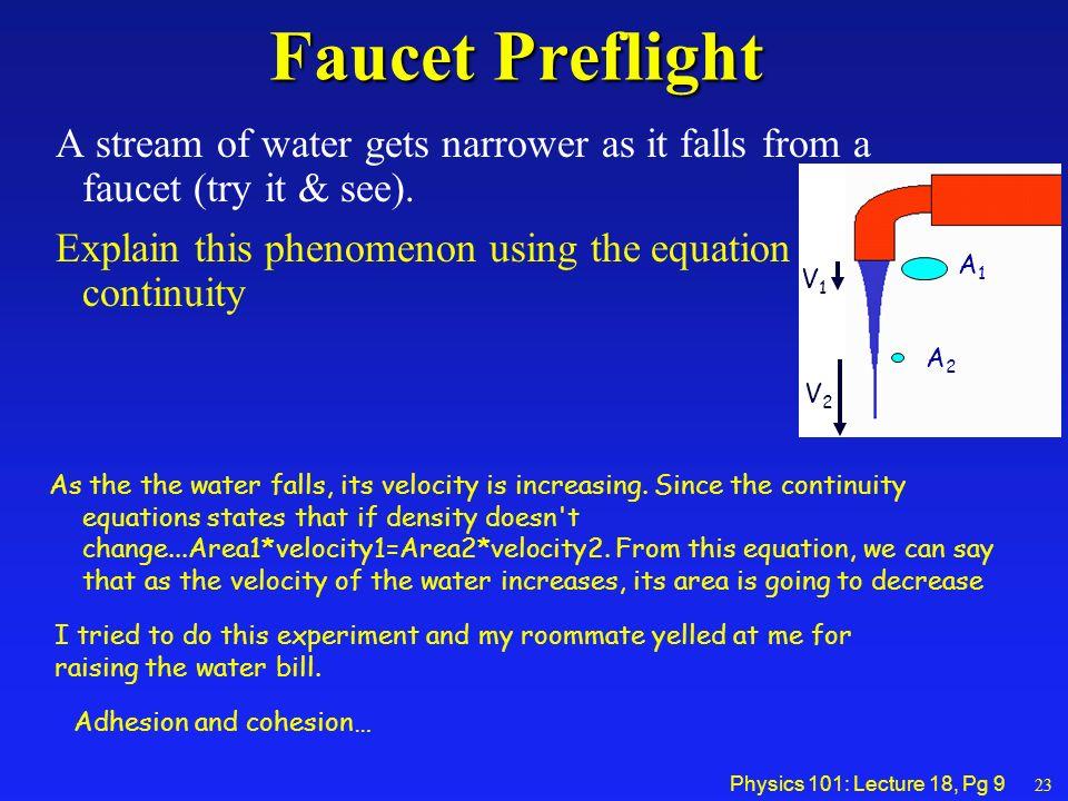 continuity equation physics. 9 physics continuity equation t