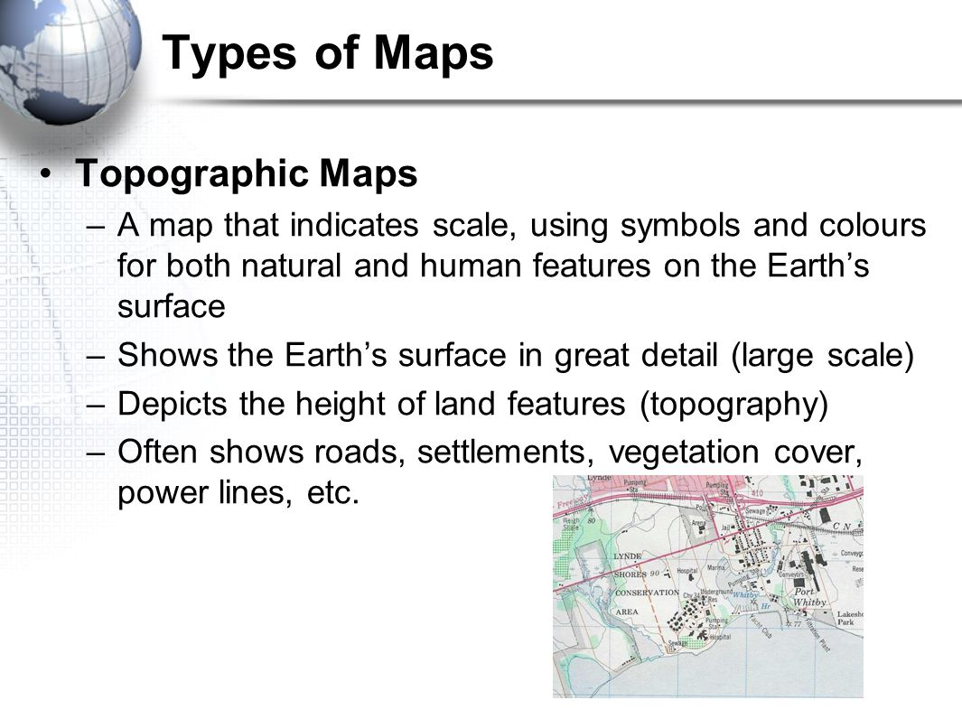 Geography of Canada Geographers Toolkit 1Parts of a Map Map