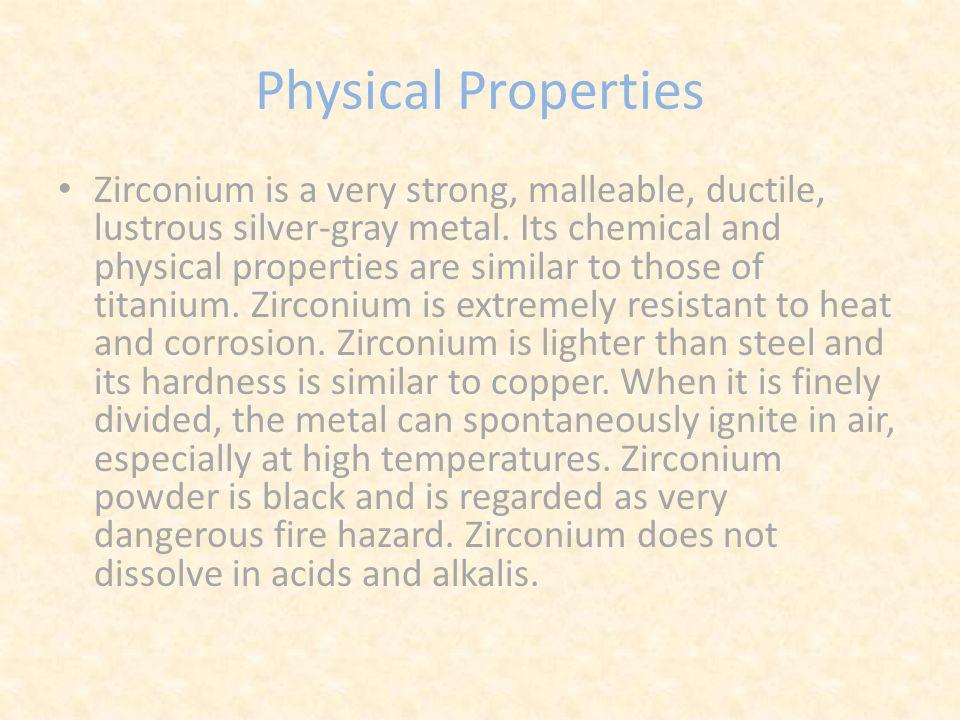 Zirconium by destiny goodrich periodic table information atomic 5 physical properties urtaz Choice Image