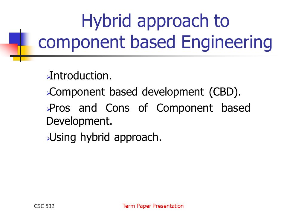 term paper presentation