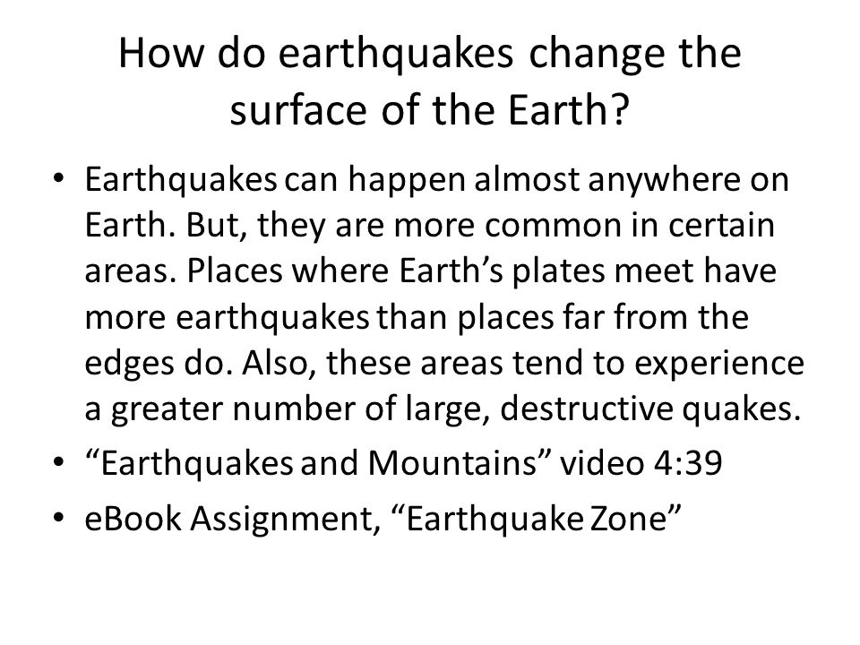 a look at earthquakes and how they happen Seismo blog where earthquakes occur but a more detailed look reveals that the but earthquakes happen not only where plates collide they also occur where two.