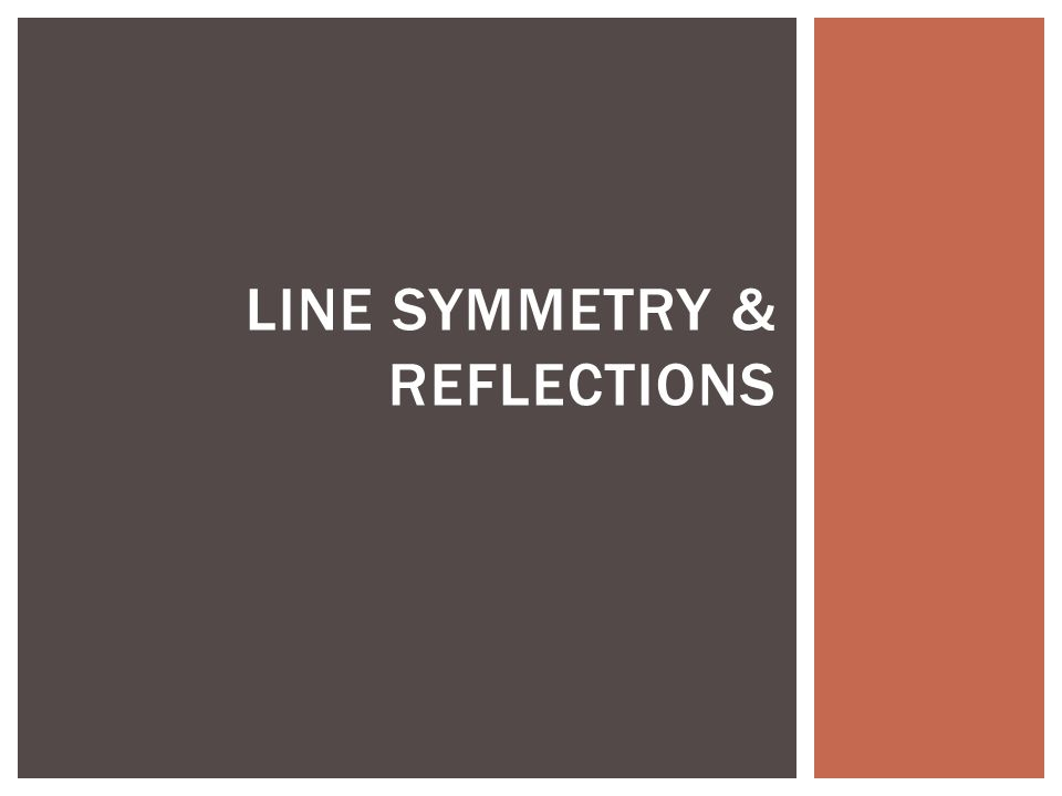Drawing Lines Of Symmetry On Shapes Worksheet : Line symmetry reflections reflection  have you ever
