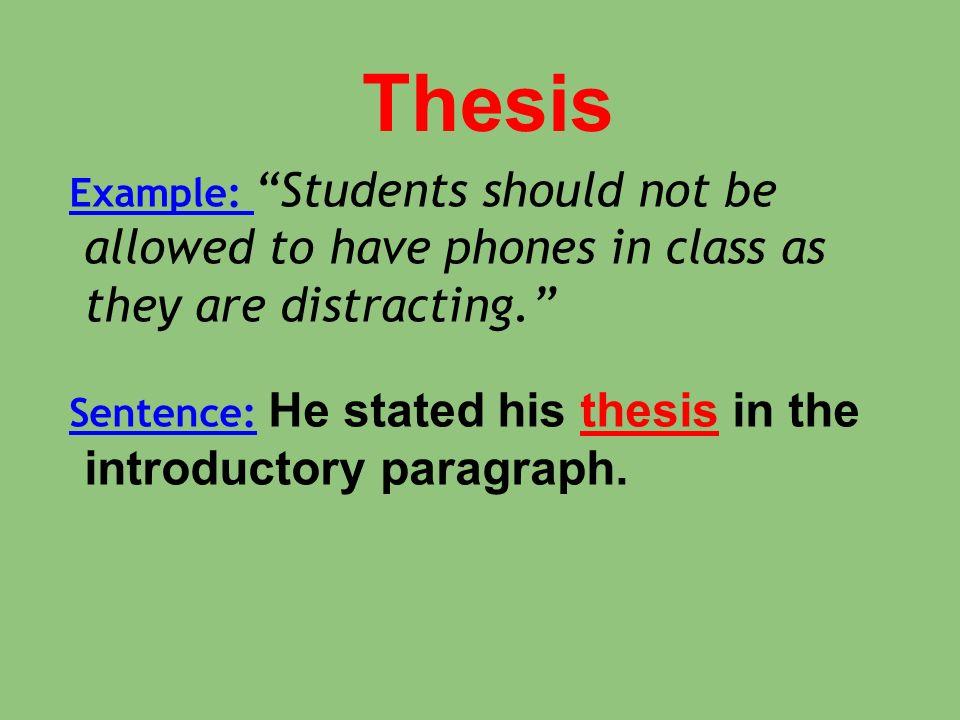 apush thesis practice
