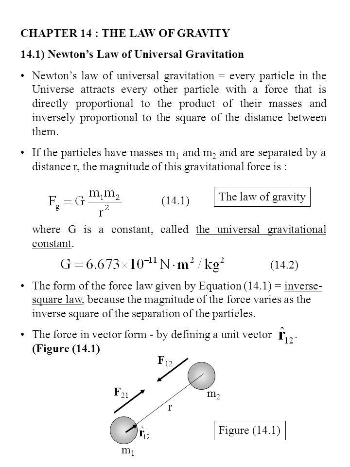 Equation For Universal Gravitation Jennarocca – Universal Law of Gravitation Worksheet
