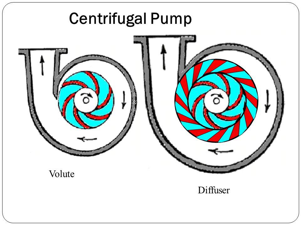 Centrifugal Pump Volute Diffuser