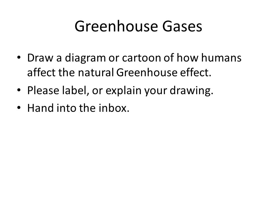 Do now 924 write the definition of the green house effect in your 10 greenhouse gases draw a diagram ccuart Gallery