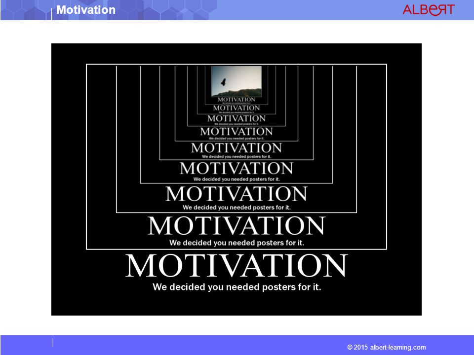 © 2015 albert-learning.com Motivation