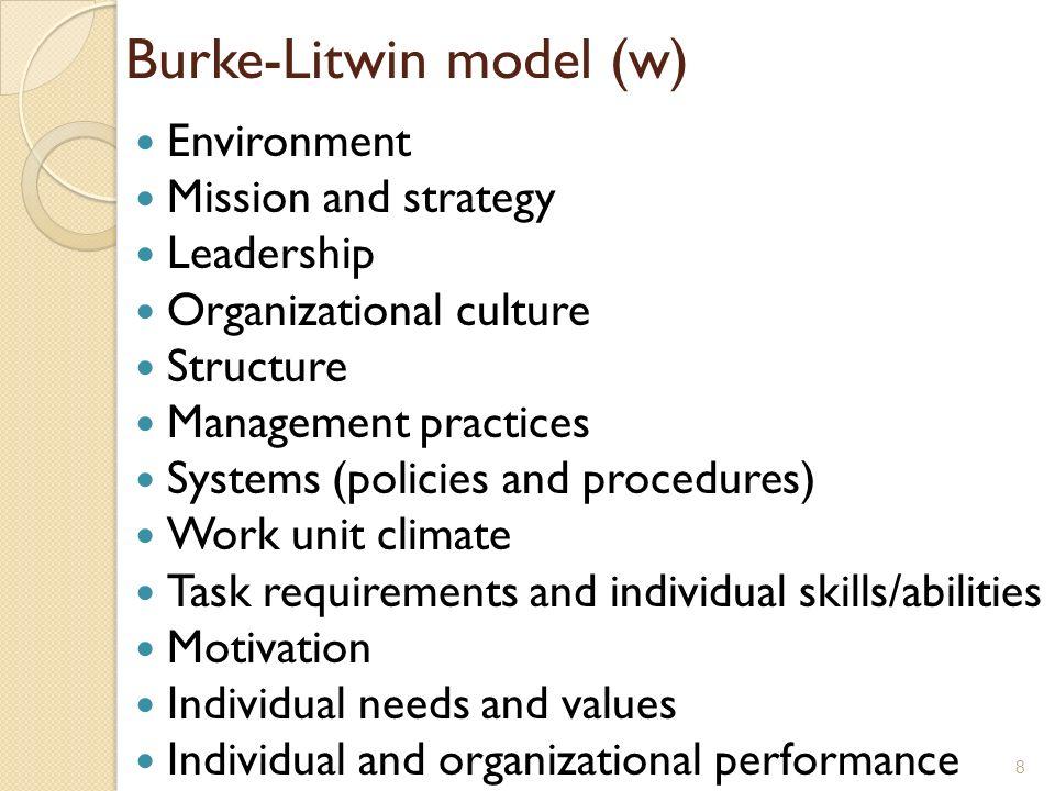 burke letwin model