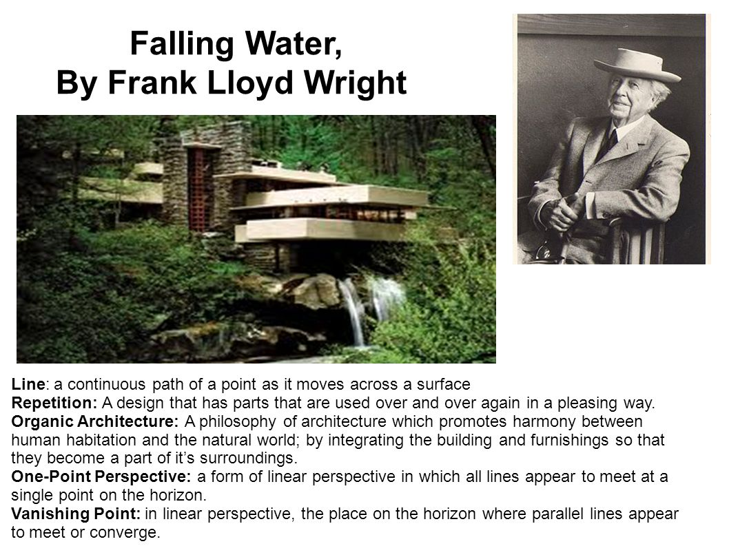 Frank Lloyd Wright Design Philosophy sixth grade art masterpiece yearly review m.c. escher louisa