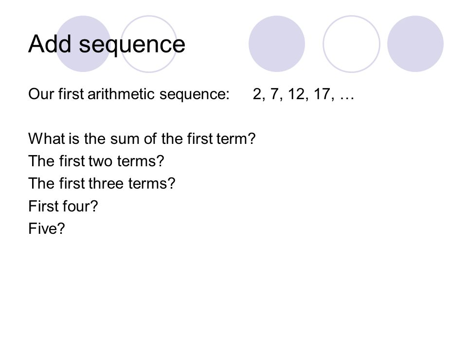 arithmetic sequence worksheet answers