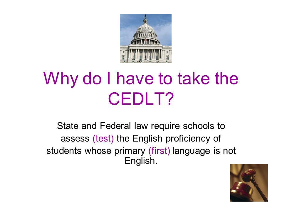 What is Language(English) test?