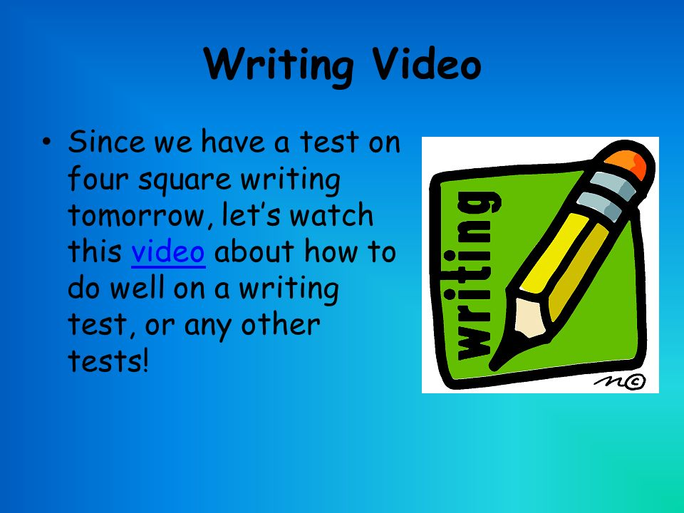 Taks test tomorrow, what do you think the writing essay topic will be?