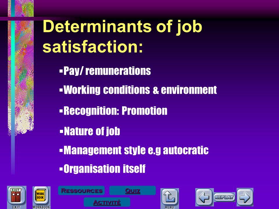 job satisfaction quiz