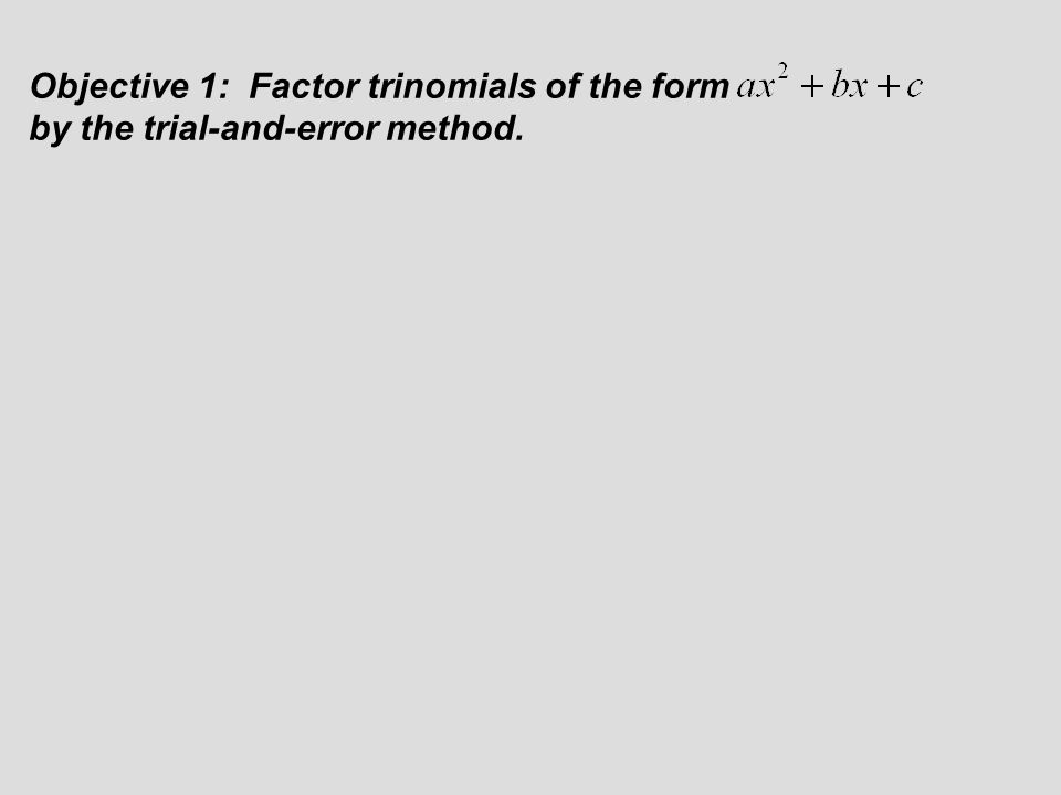 Factoring Trinomials Of The Form X2 Bx C Worksheet Pinep. Factoring Trinomials Of The Form X2 Bx C Worksheet Section 6 3 Ax 2 Ppt. Worksheet. Factoring Trinomials Of The Form Ax2 Bx C Worksheet Answers At Mspartners.co