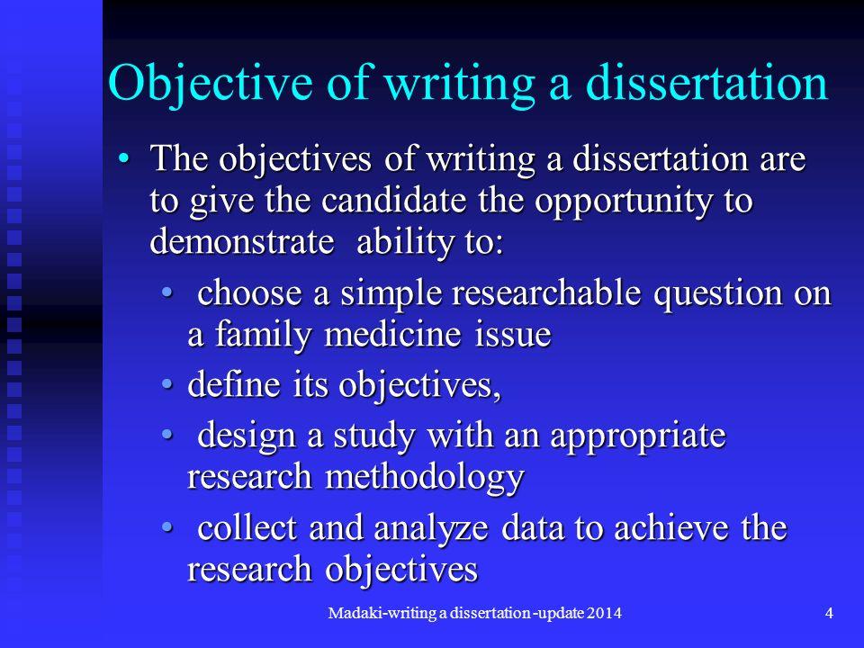 Dissertation consultant