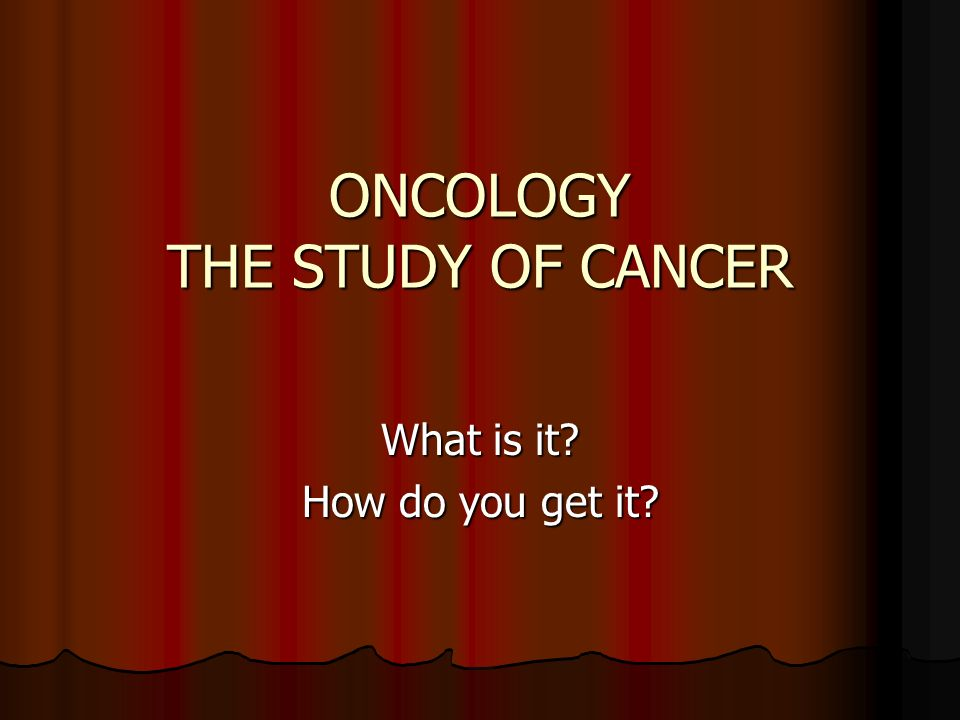 a study of cancer Dedicated to helping people who face cancer learn about cancer research, patient services, early detection, treatment and education at cancerorg.