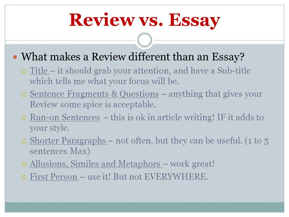 How To Title An Essay