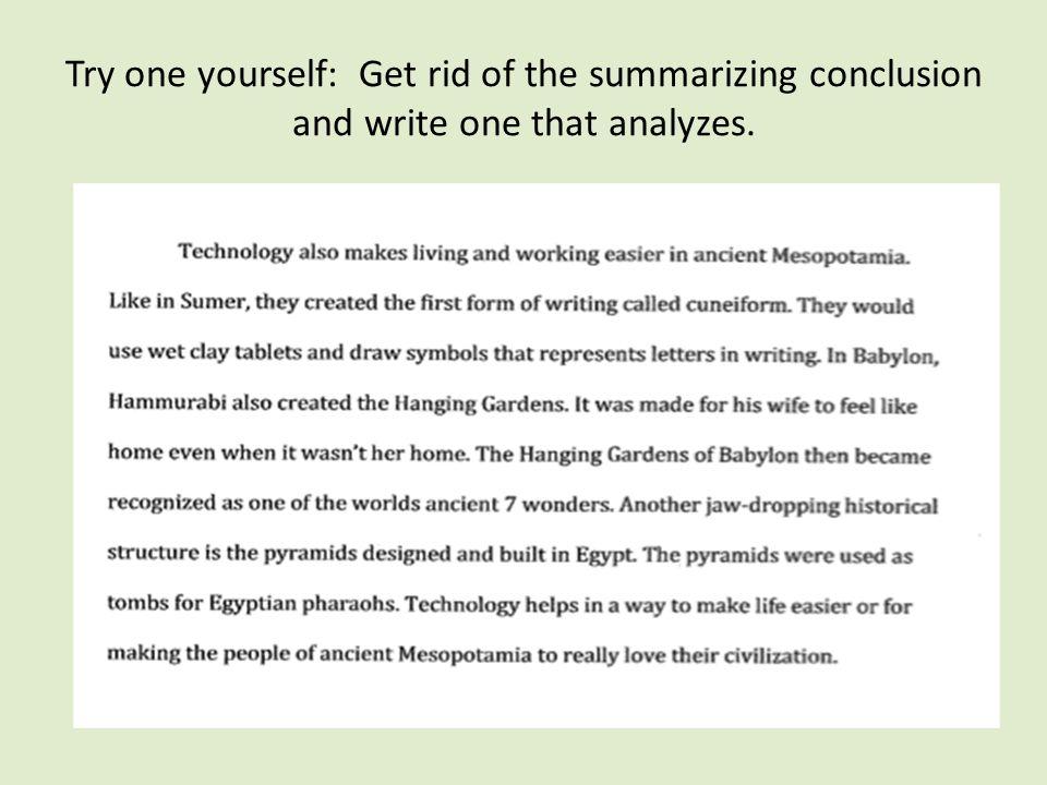 How to write a captivating essay conclusion