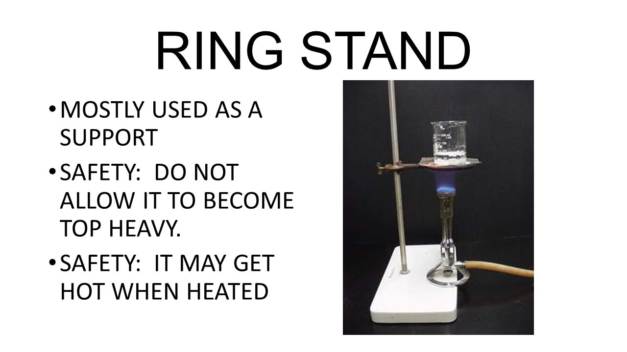 Lab Safety. LABORATORY EQUIPMENT AND THEIR FUNCTIONS. - ppt download for Ring Stand Chemistry  588gtk