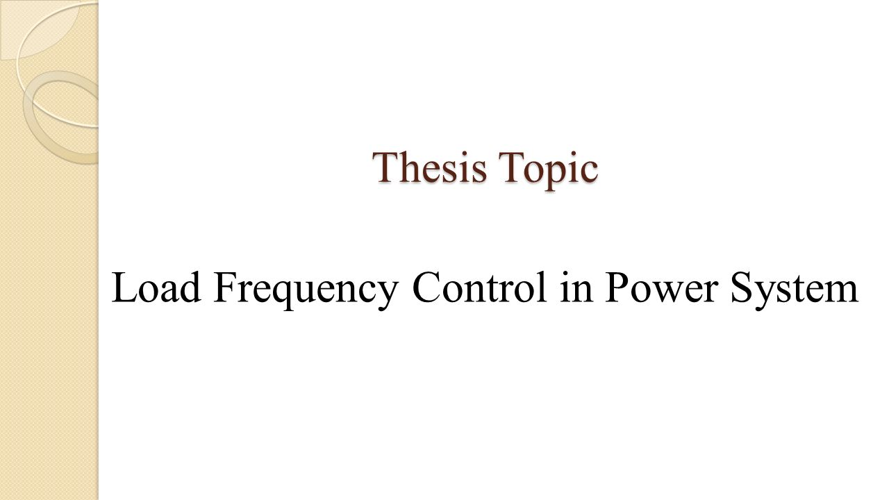 Dissertations se: DISTRIBUTION POWER SYSTEM THESIS