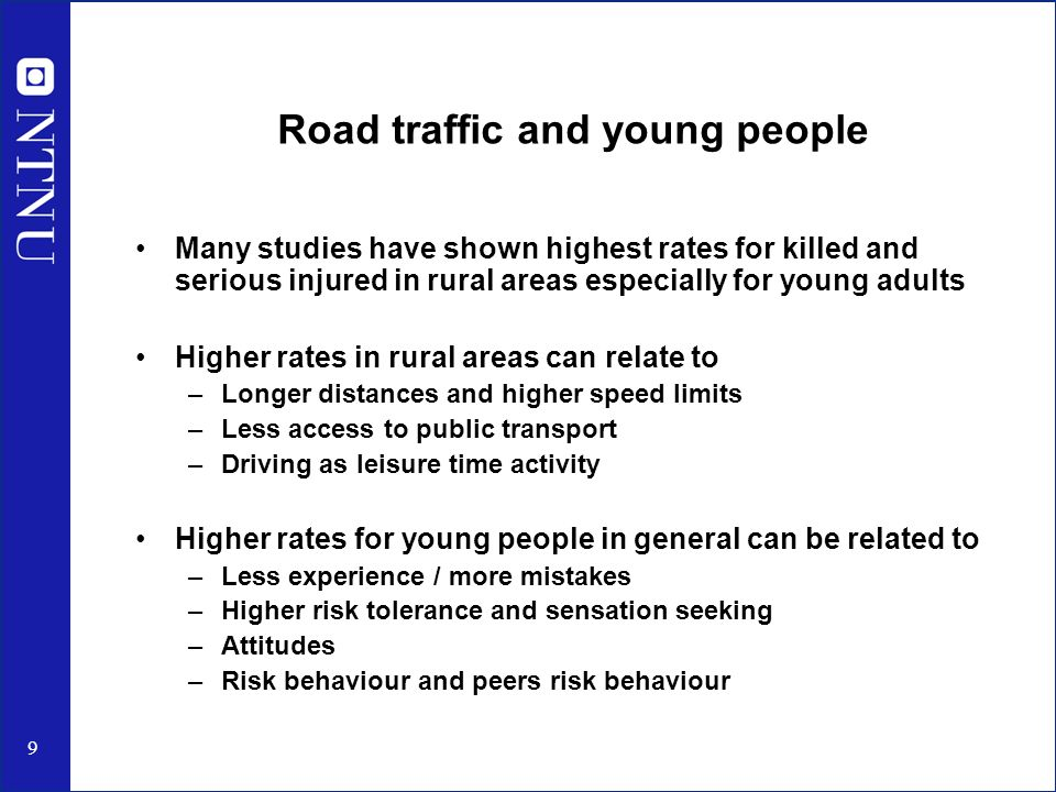 risk and young people