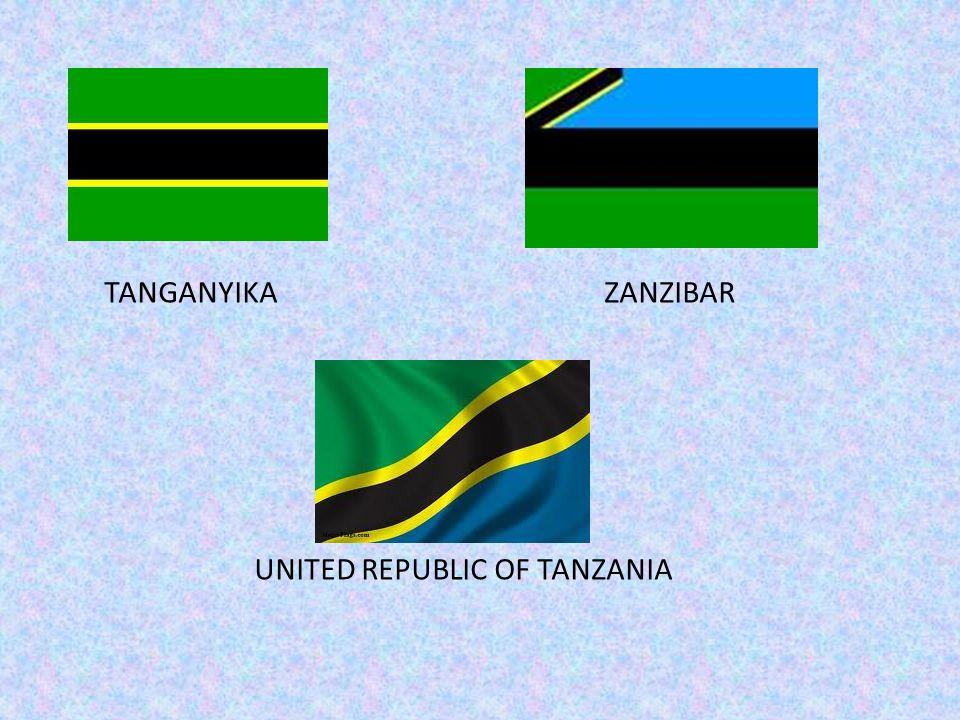 TANGANYIKA ZANZIBAR UNITED REPUBLIC OF TANZANIA